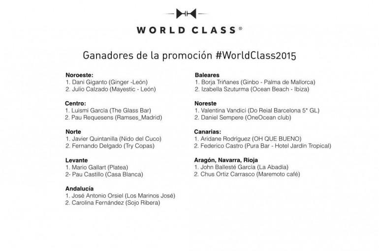 J.A Orsiel Andalucía World Class winner 2015