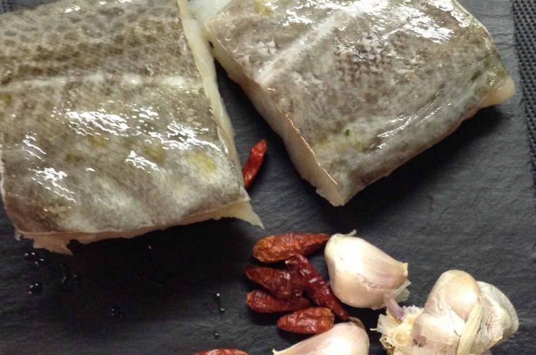 Video receta de Bacalao al Pil Pil