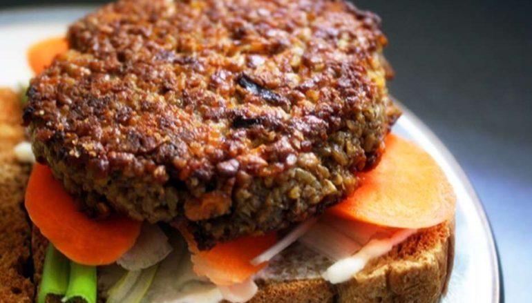 Receta de hamburguesa de garbanzos y calabacín
