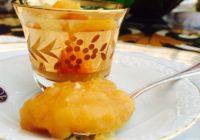 Compota de albaricoque sin azúcar y con pimienta