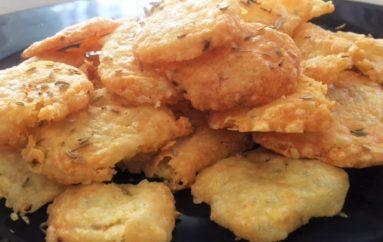 Receta de Galletitas saladas de queso
