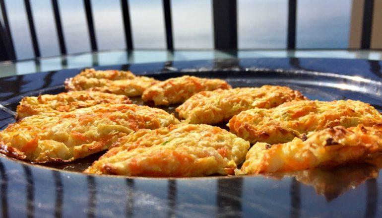 Hamburguesas de calabacín y zanahoria