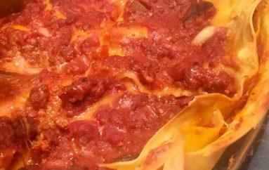 Auténtica receta de lasaña italiana ( matelicese)