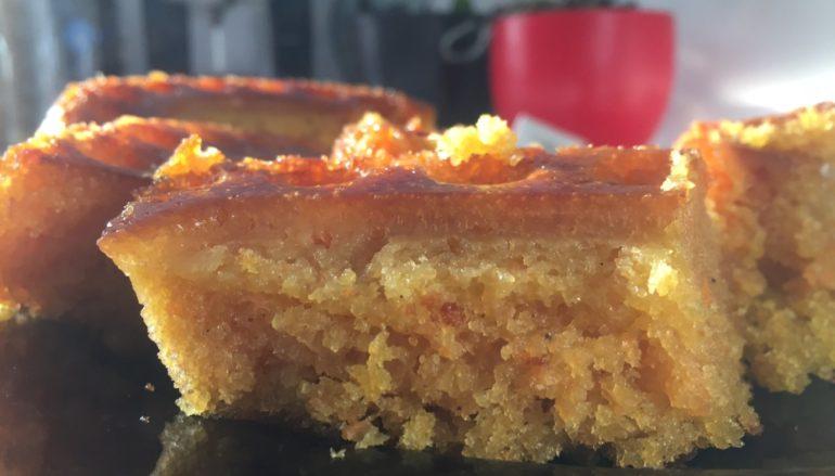 Receta fácil de Bizcocho de Zanahoria y Canela