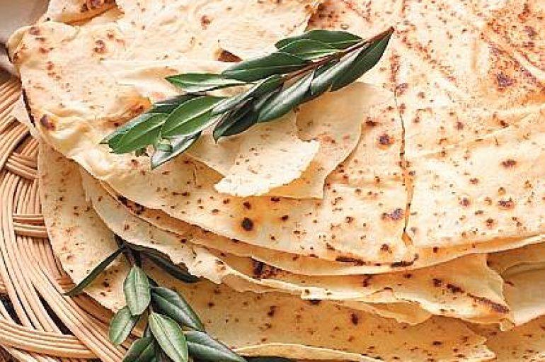 Pan Carasau: la regañá fina de la gastronomía italiana