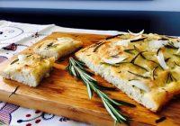 Receta fácil de Focaccia con cebolla y romero