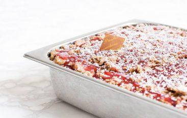 ¿Amante de la lasaña? En Bérgamo, han creado el helado con sabor a lasaña