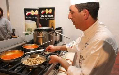 Os presento a Gaetano Raguní, nuestro chef!