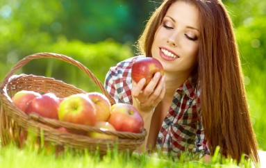 Alimentación sana, cabello sano