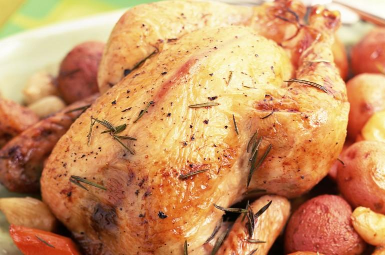 Pollo relleno de la mamma