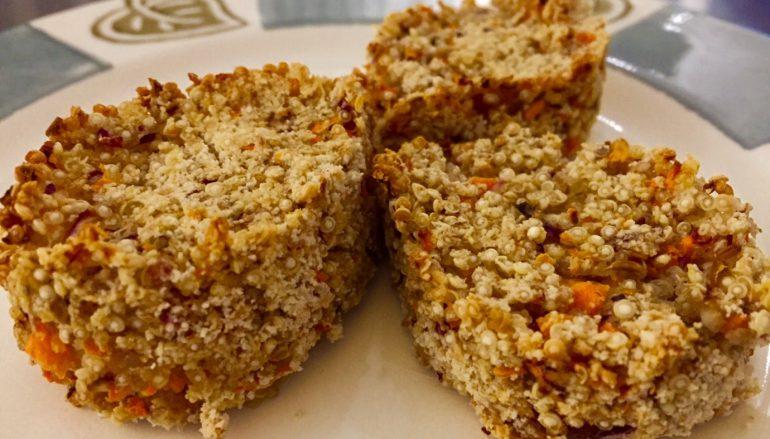 Hamburguesas de quinoa al  horno