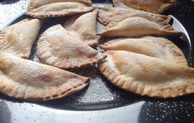 Empanadillas de crema de naranja