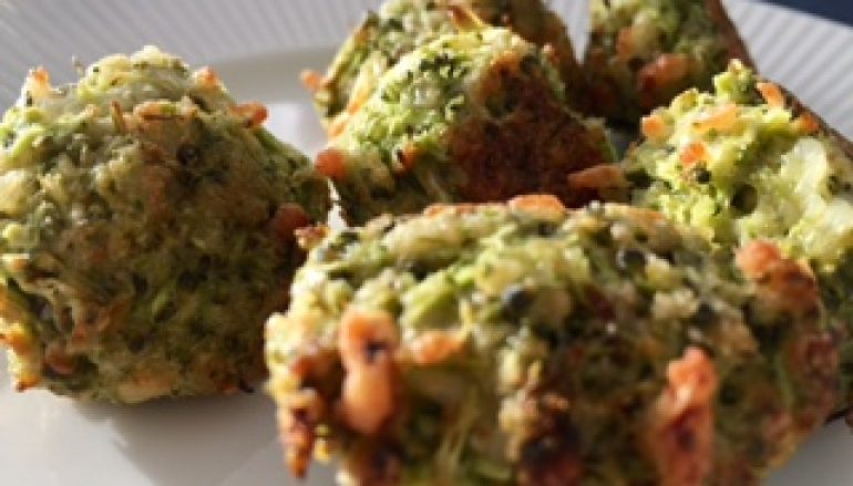 Albóndigas de brócoli y queso